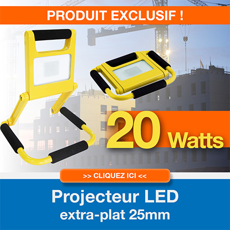 Projecteur LED ultra compact CENCO